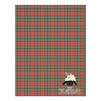 fall in the air sheep head personalized letterhead