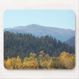 Fall in the Colorado Rockies Mouse Pad