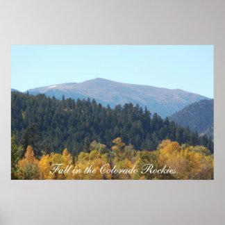 Fall in the Colorado Rockies Print