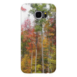 Fall in the Forest Colorful Autumn Photography Samsung Galaxy S6 Case