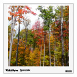 Fall in the Forest Colorful Autumn Photography Wall Sticker