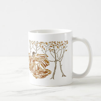 Fall in the Forest Classic White Coffee Mug