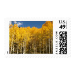 Fall in the mountains stamp
