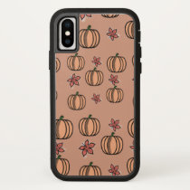 Fall in the Pumpkin Patch iPhone X Case