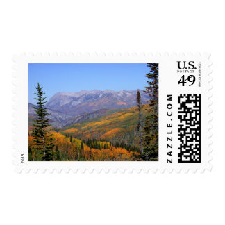 Fall in the Rockys2027 Postage Stamp