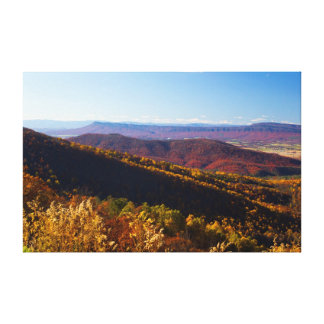 Fall in the Shenandoah Valley, Virginia Canvas Print