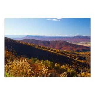 Fall in the Shenandoah Valley, Virginia Photo Print