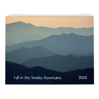 Fall in the Smoky Mountains Calendar
