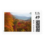 Fall in the Smoky Mountains Postage Stamp