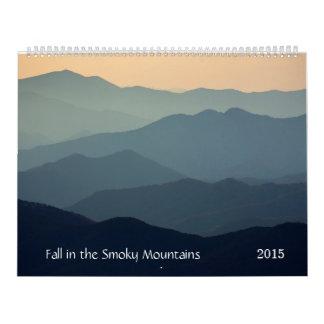Fall in the Smoky Mountains Calendar