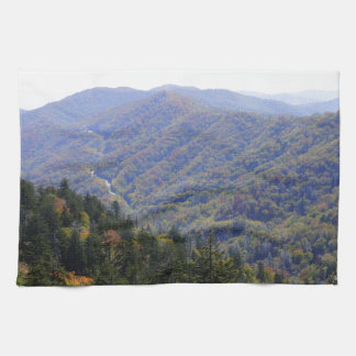 Fall in the Smoky's Towels