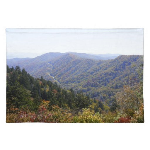 Fall in the Smokys Placemat