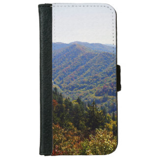 Fall in the Smokys Wallet Phone Case For iPhone 6/6s