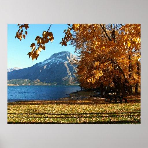 Fall In Waterton Posters