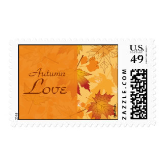 Fall Intensity Postage Stamp