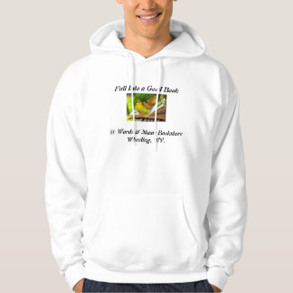 fall into a good book bookstore hoodie