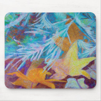 Fall Into Winter Mouse Pad