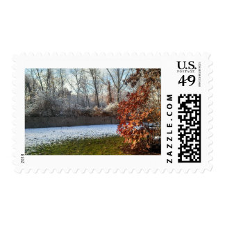 Fall into Winter Postage