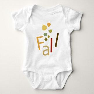 Fall is Falling Baby Bodysuit
