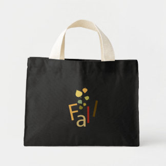 Fall is Falling Canvas Bags