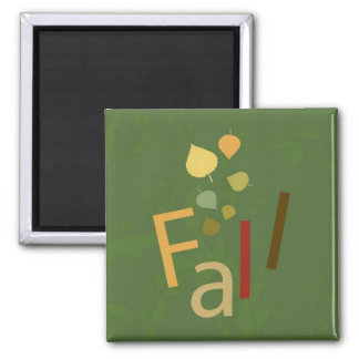 Fall is Falling Refrigerator Magnets