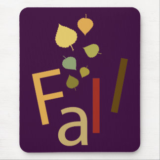 Fall is Falling Mouse Pad