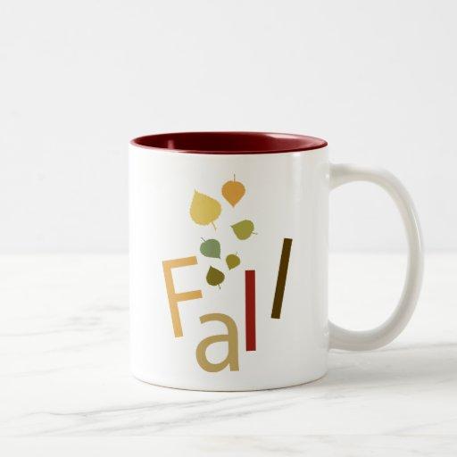Fall is Falling Mugs