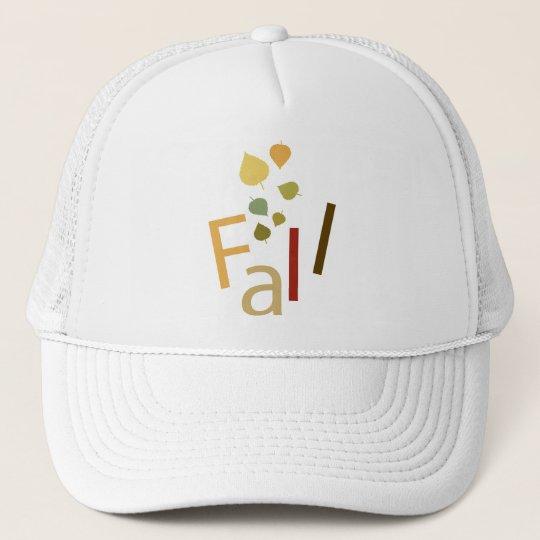 Fall is Falling Trucker Hat