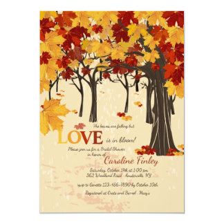 Fall Is Here Invitation