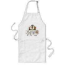 """Fall is in the Air"" Autumn Sheep Apron"