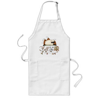 """""""Fall is in the Air"""" Autumn Sheep Apron"""