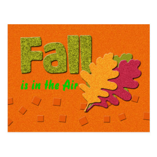 FAll is in the air Postcard