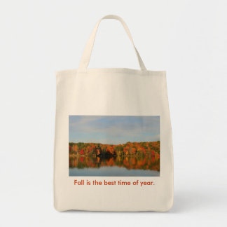 Fall is the best time of year. tote bag