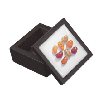 """Fall Jelly Beans 2"""" Square Premium Gift Box"""