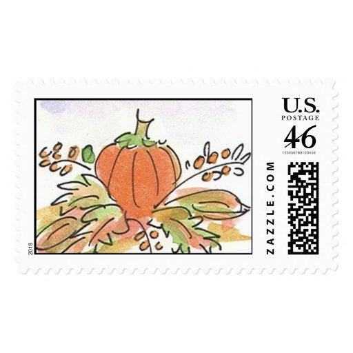 Fall KK Lovie and Dodge Stamps