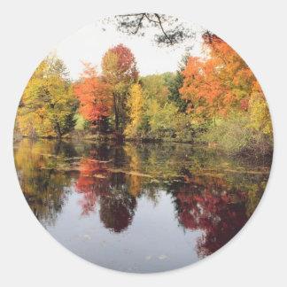 Fall Lake Stickers