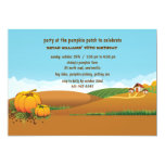 Fall Landscape Invitation