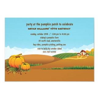 """Fall Landscape Invitation 5"""" X 7"""" Invitation Card"""