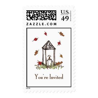 Fall Lantern Stamps