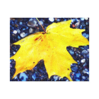 fall leaf. canvas prints
