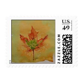 Fall Leaf Postage