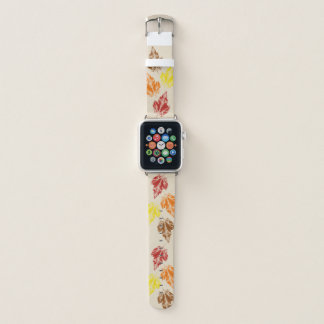 Fall Leave Watch Band