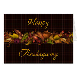 Fall Leaves 2 :: Happy Thanksgiving Greeting Card