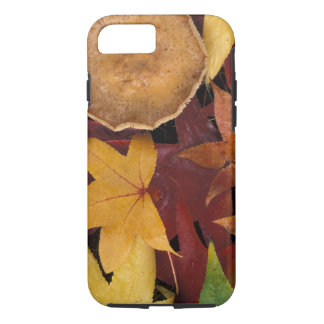 Fall leaves and toadstool iPhone 7 case