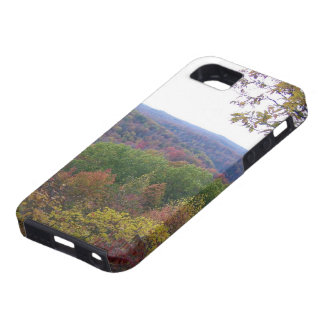 Fall leaves at Cumberland Falls iPhone SE/5/5s Case