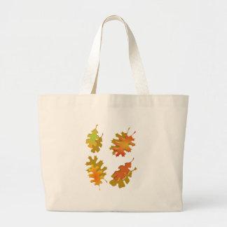 Fall Leaves Autumn Design Bag