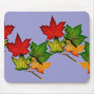 Fall Leaves Autumn Maples Trees Mousepad