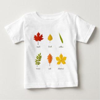 fall leaves baby T-Shirt