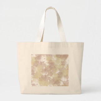 Fall Leaves Background Large Tote Bag