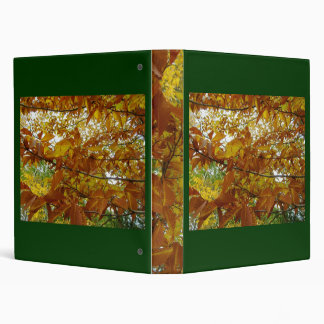 Fall Leaves Binder